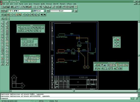 Интерфейс Plant-4D Схемы